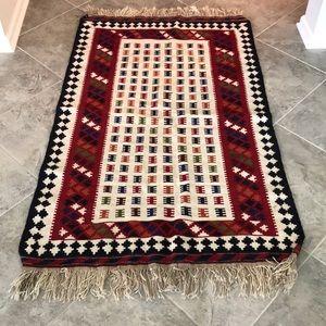Handwoven Antique Kilim rug
